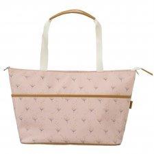 Borsa Nursery Bag Soffioni da passeggino in cotone biologico