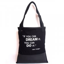 Borsa Shopper IF YOU CAN DREAM Equo Solidale in cotone