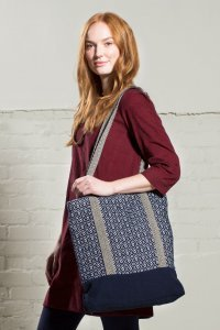 Borsa shopper Diamond in cotone equosolidale