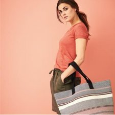 Borsa shopper in cotone biologico