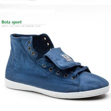 Bota Sport summer mens shoes in organic cotton canvas