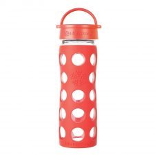 Lifefactory - Bottiglia in vetro con tappo 350 ml