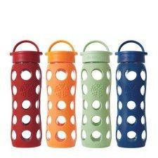 Lifefactory - Bottiglia in vetro con tappo 650 ml