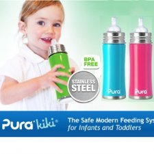 Bottle stainless steel Pura Kiki 325ml