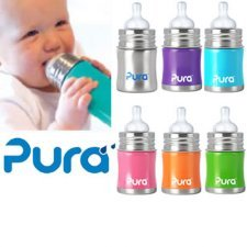 Bottle stainless steel Pura Kiki 150ml