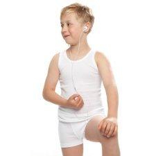Boxer bimbo in cotone bio-equo
