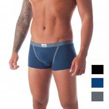 Boxer Uomo con elastico rivestito in Modal e Cotone