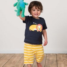 Boy summer set Lion in organic cotton
