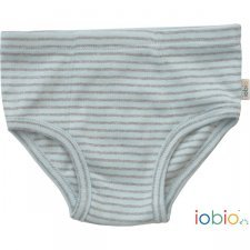 Boys briefs striped in organic cotton