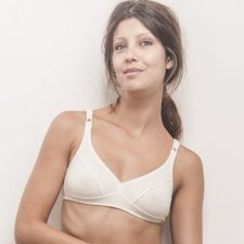 Bra cup C in organic cotton fair trade