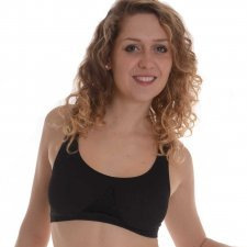 Bra TOP-FIT in bamboo and castor fiber
