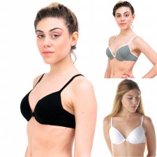 Bra with molded cup in Modal and Cotton