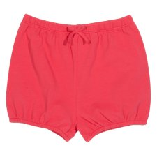 Bubble shorts in organic cotton for baby girls