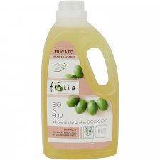 Bucato a mano e lavatrice 2 litri Folia Eco Bio con olio di oliva italiano