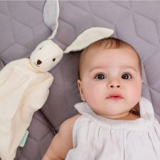 Bunny Tino in organic cotton muslin