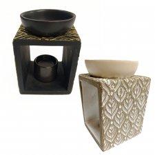 Burner ceramic in damask
