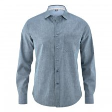 Business shirt in hemp and organic cotton