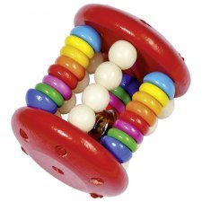 Touch ring elastic cage rattle