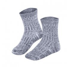 Calza in lana e cotone biologico