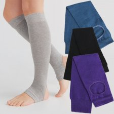 Calze Yoga da donna in cotone biologico