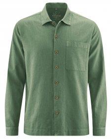 Camicia Uomo in Canapa e Cotone Biologico