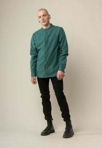Camicia coreana AMIT Forest da uomo in Cotone Biologico Equosolidale