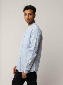 Camicia coreana AMIT Oxford da uomo in Cotone Biologico Equosolidale