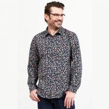 Camicia da uomo con stampa in Cotone Equosolidale