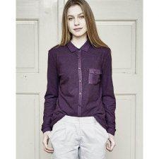 Camicia Anette in canapa e cotone biologico