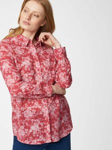 Camicia floreale Lela in cotone biologico