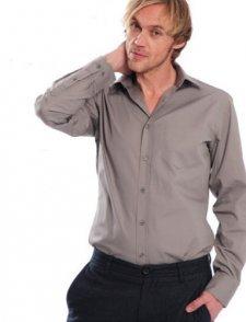 Camicia manica lunga in cotone biologico