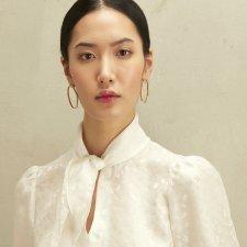 Camicia NORI in pura seta, moda etica e sostenibile