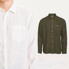 Camicia Uomo in 100% Lino Biologico