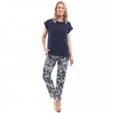 CANARY ISLAND trousers in eco-sustainable viscose
