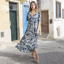 CANARY ISLAND dress in eco-sustainable viscose