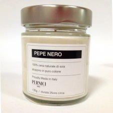 Candela Naturale 100% cera di soia al Pepe Nero
