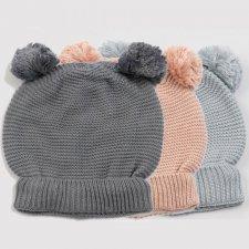 Cappellino fatto a maglia in Bamboo Organico