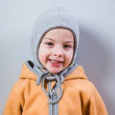 Cappellino INKA per bambini in Pile di cotone biologico Popolini