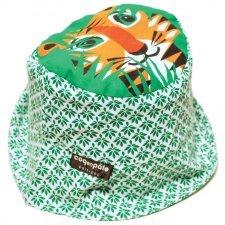 Cappellino Tigre in cotone biologico