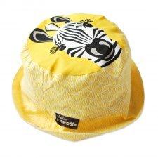Cappellino Zebra in cotone biologico