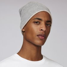 Cappello Beanie Unisex in felpa di cotone Biologico