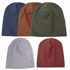 Cappello Cuffia TODDLER per bambini piccoli in cotone biologico