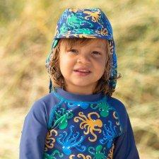 Cappello da sole per bambini Octopus con protezione UV UPF50+