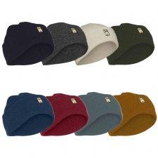 Cappello unisex LEAF classico in pura lana biologica