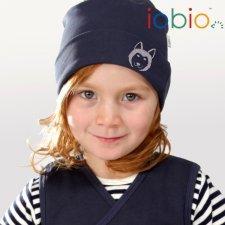 Cappello Lupo in cotone biologico Popolini