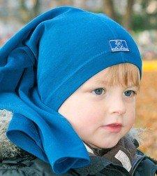 Cappello multiuso in lana/seta