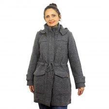 Cappotto donna Maxi in lana cotta