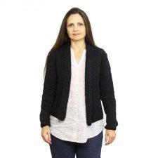 Giacca Sonja in lana merino e seta