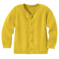 Cardigan bimbi Disana in lana merino biologica