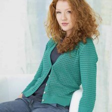 Cardigan Jolante for woman in hemp